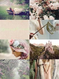 aesthetic spring acotar court aesthetics collage books mist glass throne characters storybook visit series august dreams roses