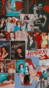 heathers aesthetic collage movie retro iphone 70s film wallpapers backgrounds pastel wallpaped woow uploaded 70s2