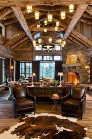 rustic lake amazing homes decorating mountain houses rooms contemporary interiors dining