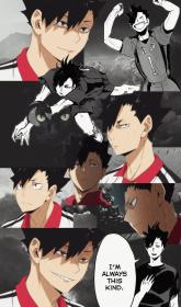 haikyuu aesthetic kuroo tetsurou wallpapers collage anime iphone funny manga karasuno boys fanart kageyama lock screen makeeasythings m51 backgrounds plabse