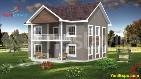 homes story yeniexpo prefab manufactured houses palm huge concrete