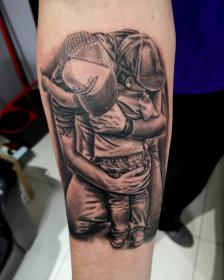 father tattoo son amazing tattoos sons quotes daughter outsons blow mind forearm