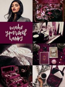 potter harry aesthetic character collage hp wallpapers aesthetics purple moodboards visit patil parvati moods challenge colour