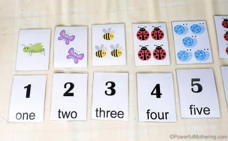 Match & Count Cards 1 10 (Free Printable) Printable