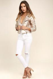 jacket leather lulus jackets outfit blouses