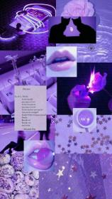 aesthetic cute purple wallpapers collages pastel follow discover october cool