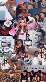 collage iphone wallpapers aesthetic friends pantalla fondos 90s backgrounds phone webstaqram compartidos fondo dope wall collages visit