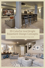 basement bright concepts colors finished paint ceiling check colorful makeover low diykitchencabinets unfinished apartment remodelbasement homeawakening finishing
