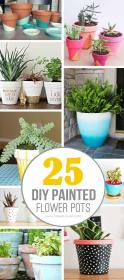 pots pot flower diy painted paint terracotta decorated clay crafts painting plants easy plant projects designs decorating garden cute flowers