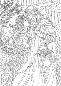 Free Printable Fantasy Coloring Pages For Adults Novocom Top