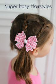 easy hairstyles hair styles short fine very super age hairstyle toddlers simple haircuts toddler birthday kid fo thechirpingmoms twist ponytail