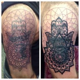 Image result for mandala tattoo cover up Cover up