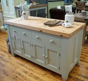 Kitchen Island Solid wood construction and bespoke sizes