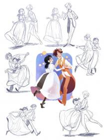 poses drawing dancing reference dance drawings character references couple pose anime sketch someone deviantart hand animation sketches hyde jekyll sabrina