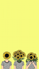 aesthetic yellow desktop sunflower backgrounds wallpapers laptop parede papel drawing pantalla fondos iphone papeis lock fundo phone imagens flower screen