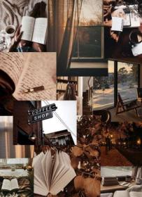 aesthetic brown cozy collage iphone pastel wallpapers lockscreen dark quotes backgrounds gipfashion juni