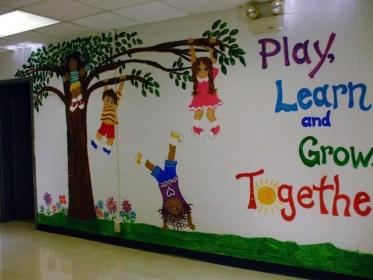 wall classroom kindergarten decor decoration decorations toddler walls daycare tany