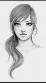 sketches pencil drawing shading face sketch easy portrait drawings draw faces hair
