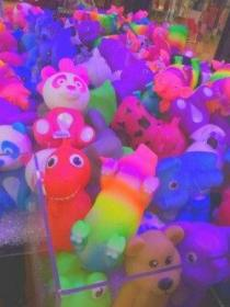 kidcore aesthetic colors rainbow pastel bright childhood crazy aesthetics grunge rave different kawaii toys trippy anime uploaded user creepy colour
