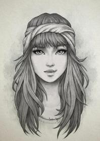 pencil sketches drawing drawings simple portrait portraits realistic uploaded user
