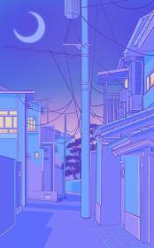 aesthetic pastel tokyo iphone kawaii background purple wallpapers backgrounds anime cartoon sonic streetscapes star desktop galaxy aesthetics quotes scenery japan