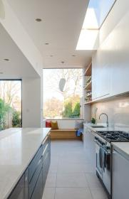 remodelista kitchens sleek heart plywood hippie cottage extension trendy contemporary sustainable townhouse window coronary glossy country filled skylight stylemony