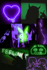 aesthetic neon green purple wallpapers iphone backgrounds violet
