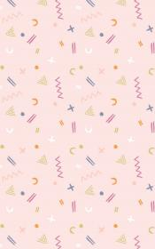 vsco aesthetic iphone cute wallpapers backgrounds patterns pastel trendy shapes kawaii homescreen rachel discover amazonaws