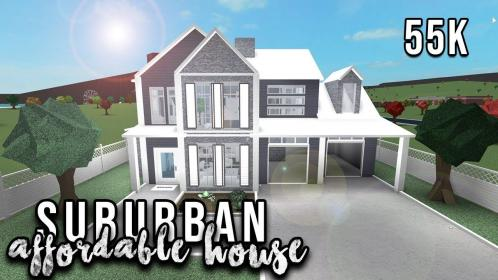 bloxburg suburban roblox welcome aesthetic houses modern homes build speedbuild affordable layout google interior hillside layouts tiny speed plans under