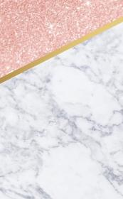 Cute iPhone wallpaper marble, rose gold and gold Handy