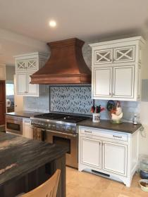 french hood country copper range hoods fabrication welded molding shoppe