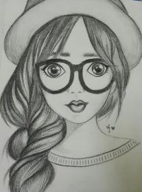 drawings pencil easy sketches cool realistic girly drawing portrait faces uploaded user outline
