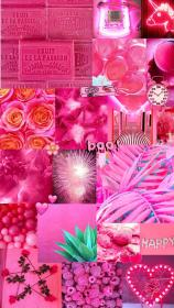 aesthetic backgrounds pink bright collages background aesthetics wallpapers pastel discover