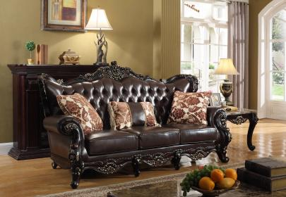 furniture sofa brown meridian barcelona theclassyhome leather