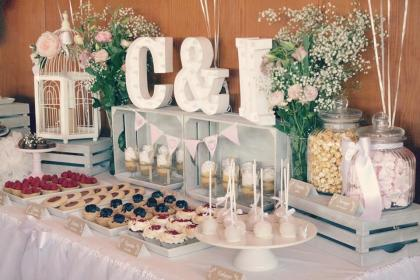 boda dulces mesa mesas bodas civil como decorar jardin dulce decoradas sencilla paradise cookies originales tipos mx guardado recipes hacer
