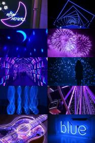 aesthetic purple neon iphone collage pink wallpapers moon dark witch cool rainbow jar soft grunge