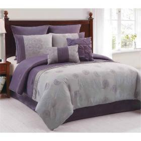 purple grey lavender colors gray bedrooms bedding tone schlafzimmer lavanda bed letto camera comforter paint idee lila suggestive grau bs2h