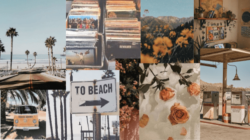 aesthetic desktop 90s grunge vibe wallpapers beachy backgrounds roadtrip 80s flowers macbook roses vw records phone reco wallpaperaccess