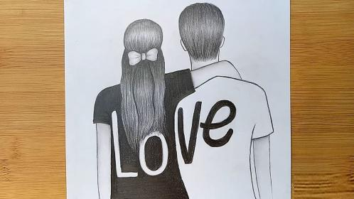 draw step pencil sketch couple drawing boy very drawings steps