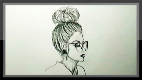 pencil drawing easy drawings sketches sketch role step inside