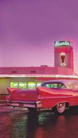 aesthetic diner wallpapers retro 50s backgrounds pink pastel wallpaperplay iphone
