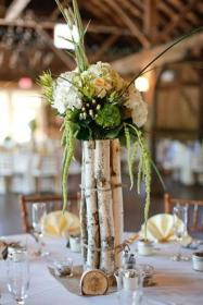 birch rustic centerpieces wedding winter centerpiece using tree twine branch weddings cozy rock farm decor weddingwire floral mesa para branches
