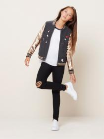 rose gold boots latest cute bomber outfit preteen visit jacket