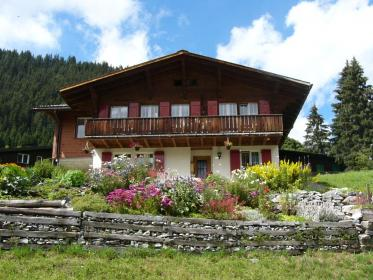 swiss chalet plans wooden traditional homes cabin alps balconied balcony architecture plan garden mountain pics4learning google cottage montana plougonver