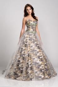 camo dresses prom camouflage pageant gowns queen homecoming cocktail military gown bridal evening short country divinely hers boutique formals pretty