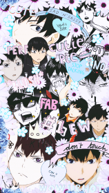 anime haikyuu kageyama tobio hinata manga iphone karasuno kuroo collage wallpapers cute phone fondos para heart kagehina tetsurou cool visitar