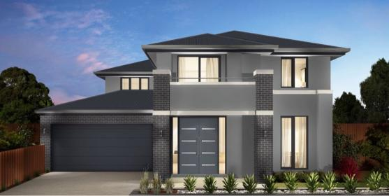 grey modern brick facades facade houses storey double exterior paint front surfmist residential colour architecture result rendered google