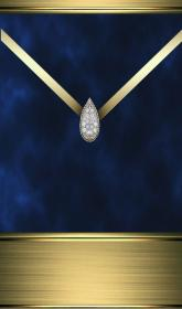 Blue and gold diamond in 2019 Bling wallpaper, Cellphone