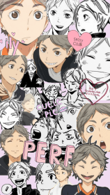 haikyuu sugawara anime manga aesthetic collage karasuno koushi hinata wallpapers scans team iphone nishinoya akaashi shouyou hooks arms hands metal
