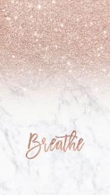 rose gold marble background wallpapers glitter cute iphone aesthetic backgrounds pretty girly ombre modern phone